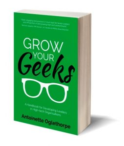 Grow your Geeks book cover by Antionette Oglethorpe